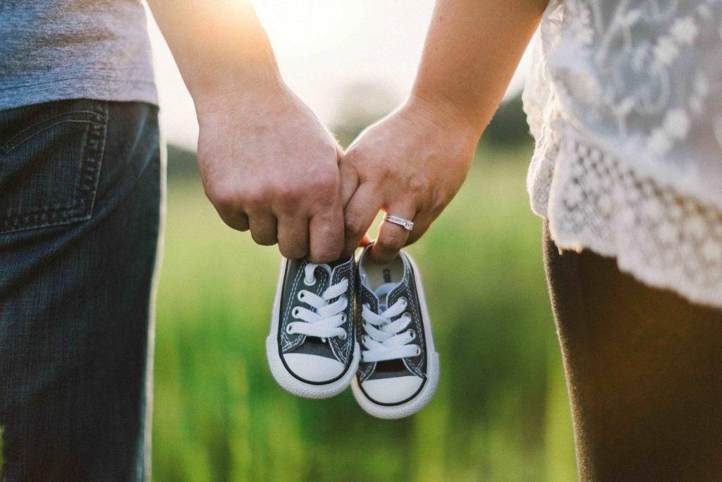 JGA für schwangere Braut