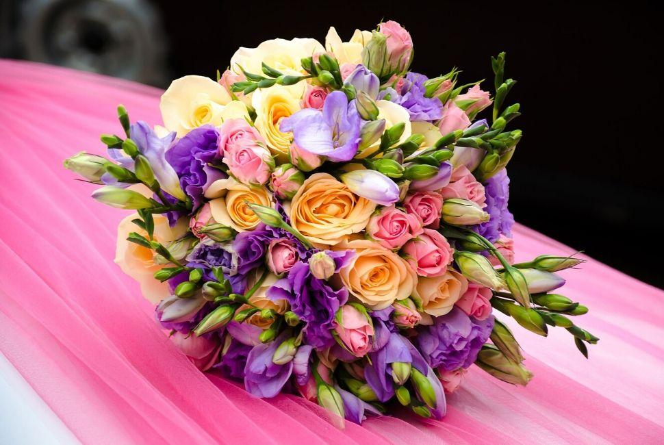 Brautstrauß trocknen